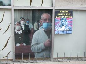Schweinegrippfewerbung