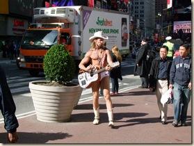 ny - naked cowboy